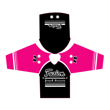 Maillot Oldschool Black / Pink