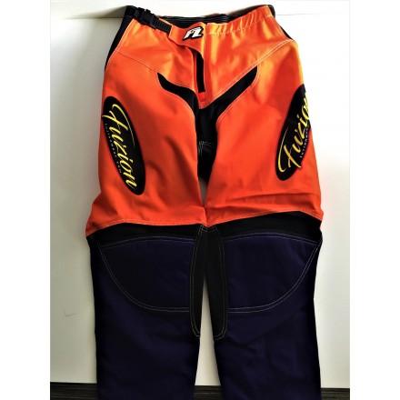Pantalon FZ by Poups Orange / Violet 28